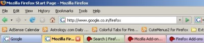 Extension Firefox : ColorfulTabs