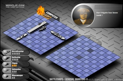 (Jeu Flash) Battleships : touché, coulé !