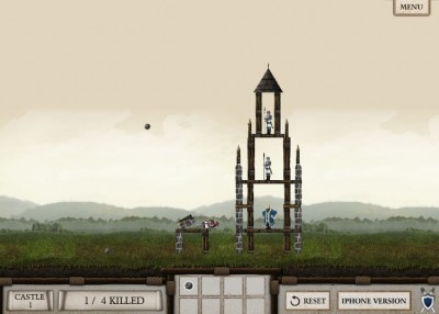 (Jeu Flash) Crush the Castle : les joies du trébuchet