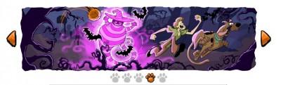 Un doodle Scooby Doo pour halloween
