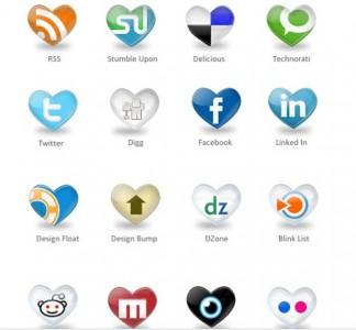 Des miliers dicônes gratuites pour réseaux sociaux