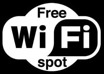 free wifi spots