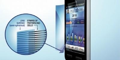 Recharger son téléphone grâce à un film plastique