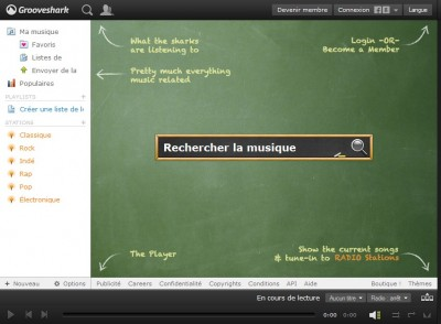 Grooveshark : continuer dcouter la musique gratuitement