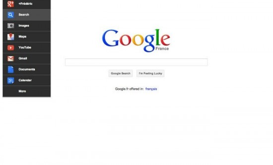 La nouvelle Google Bar