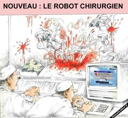 Le robot chirurgien sous Windows