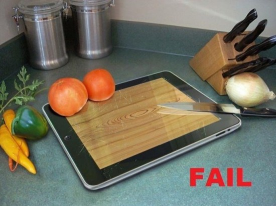 Utiliser un iPad en cuisine