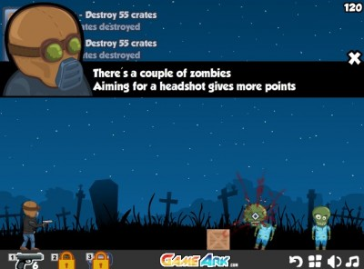 (Jeu Flash) Bounzy 2 : la chasse aux zombies est ouverte