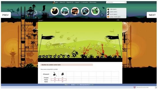Branes Battle : un jeu gratuit dans votre navigateur