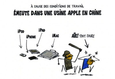emeute usine apple