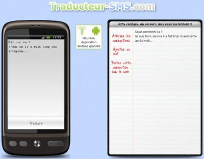 Traducteur sms.com : traduisez en français des textos