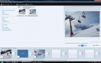 Movie Maker pour Windows 7