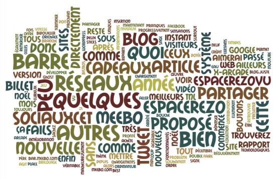 Wordle : générer des nuages de mots