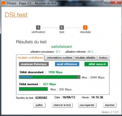 DSL test