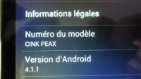 Tests Wiko : le Cink Peax