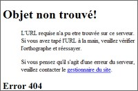 Des pages derreur 404 originales