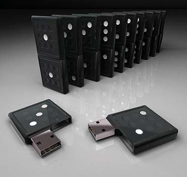Cle USB Domino